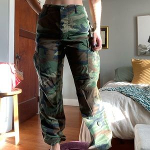 Pants - authentic army cargo pants
